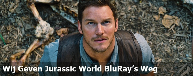 Wij Geven Jurassic World BluRay's Weg