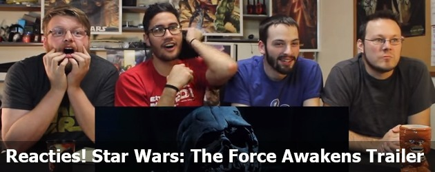 Reacties! Star Wars: The Force Awakens Trailer