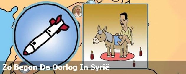 Zo Begon De Oorlog In Syrië