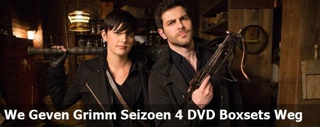 We Geven Grimm Seizoen 4 DVD Boxsets Weg