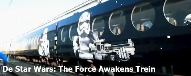 De Star Wars: The Force Awakens Trein