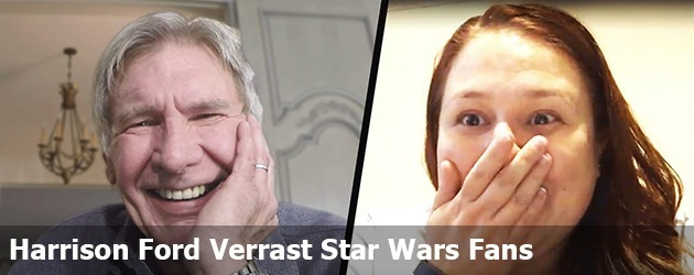 Harrison Ford Verrast Star Wars Fans