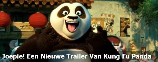 Joepie! Een Nieuwe Trailer Van Kung Fu Panda