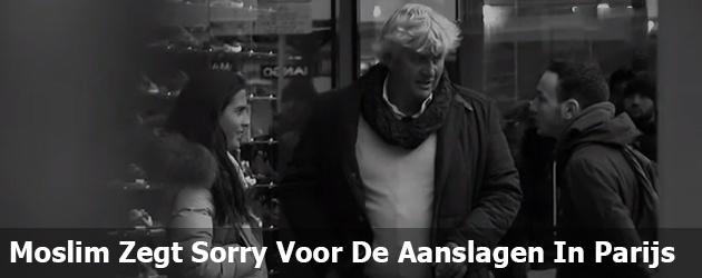 Moslim Zegt Sorry Voor De Aanslagen In Parijs
