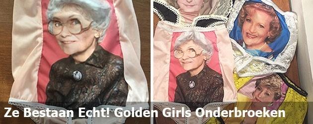 Ze Bestaan Echt! Golden Girls Onderbroeken