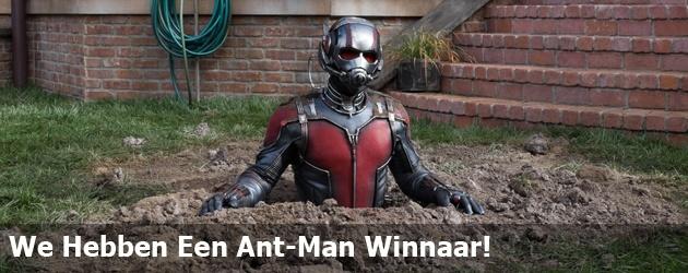 We Hebben Een Ant-Man Winnaar!