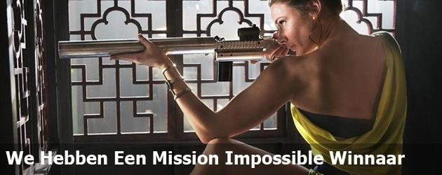We Hebben Een Mission Impossible Winnaar