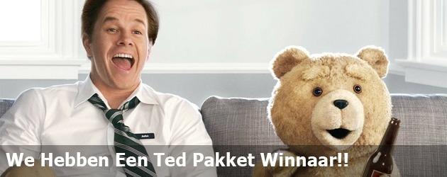 We Hebben Een Ted Pakket Winnaar!!