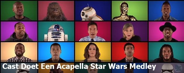 Cast Doet Een Acapella Star Wars Medley