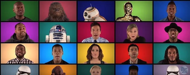Cast Doet Een Acapella Star Wars Medley