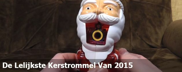 De Lelijkste Kerstrommel Van 2015