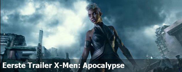 Eerste Trailer X-Men: Apocalypse