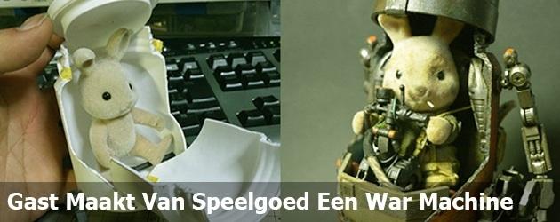Gast Maakt Van Een Konijntje Een War Machine