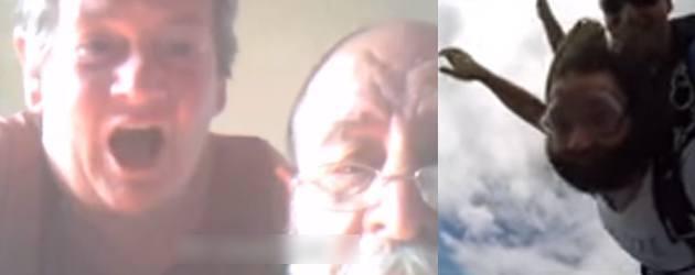 Skydiven En Tegelijk Je Ouders Skypen