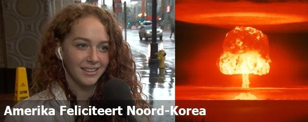 Amerika Feliciteert Noord-Korea