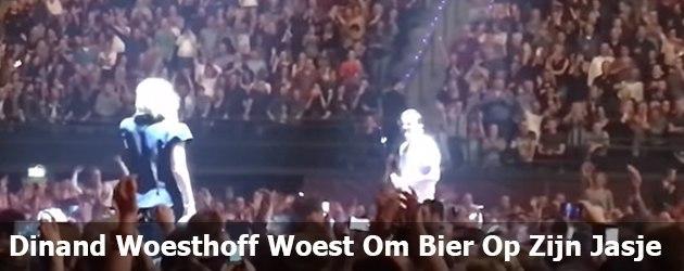 Dinand Woesthoff Woest Om Bier Op Zijn Jasje