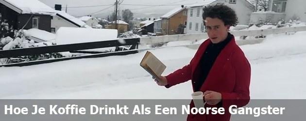 Hoe Je Koffie Drinkt Als Een Noorse Gangster