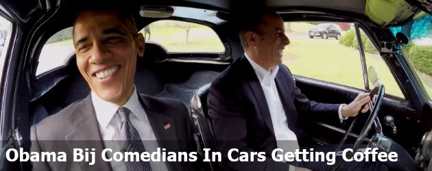 Obama Bij Comedians In Cars Getting Coffee