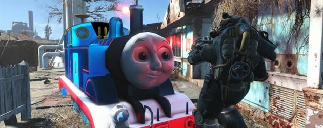 Oh Mijn God! Thomas The Train In Fall Out 4!