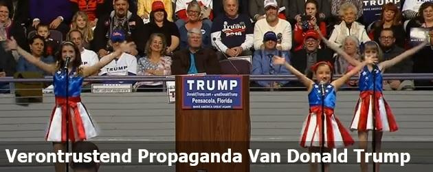 Verontrustend Propaganda Van Donald Trump