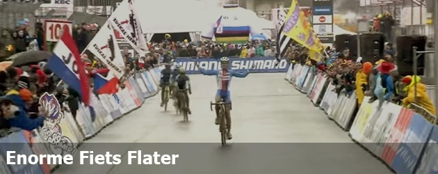 Enorme Fiets Flater