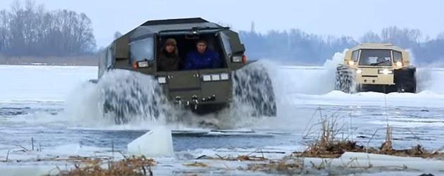 De Sherp Is Een Badass Russisch Amfibie Voertuig