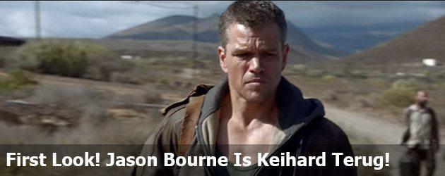 First Look! Jason Bourne Is Keihard Terug!