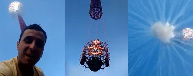 Nooit Slim, Vuurwerk In Een Luchtballon
