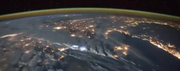 Prachtige Beelden ISS: Onweer Van Uit De Ruimte