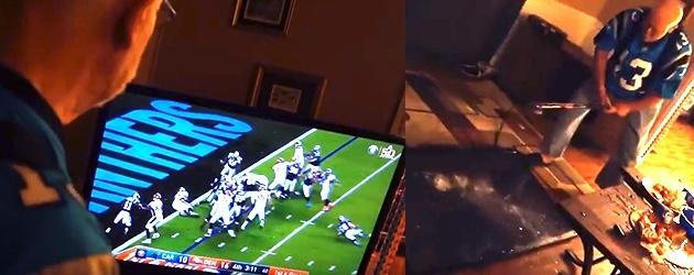 Super Bowl: Opa Sloopt De Boel Na Verlies