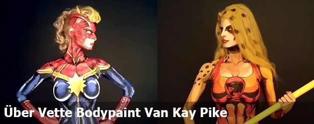 Über Vette Bodypaint Van Kay Pike