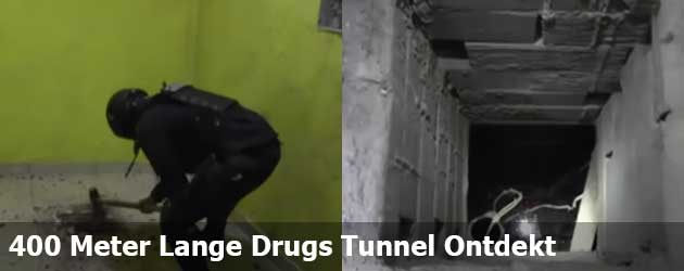 400 Meter Lange Drugs Tunnel Ontdekt In Mexico
