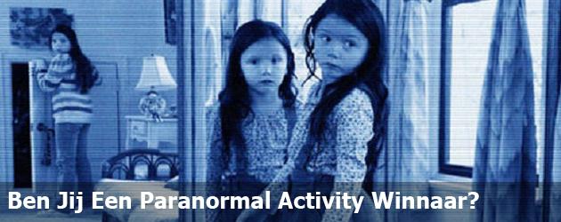 Ben Jij Een Paranormal Activity Winnaar?