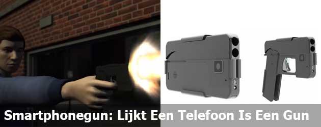 Smartphonegun: Lijkt Een Telefoon Is Een Gun