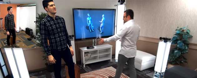 Microsoft's Virtual 3D Teleportation!