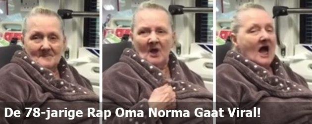 De 78-jarige Rap Oma Norma Gaat Viral!