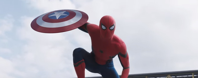 Spiderman In De Nieuwe Captain America: Civil War
