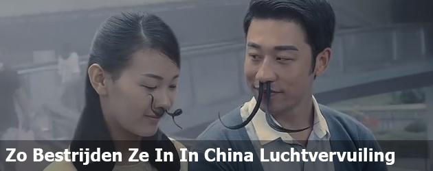 Zo Bestrijden Ze In In China Luchtvervuiling