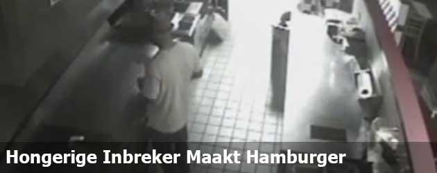 Hongerige Inbreker Maakt Hamburger En Vertrekt Weer