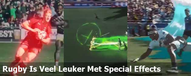 Rugby Is Veel Leuker Met Special Effects
