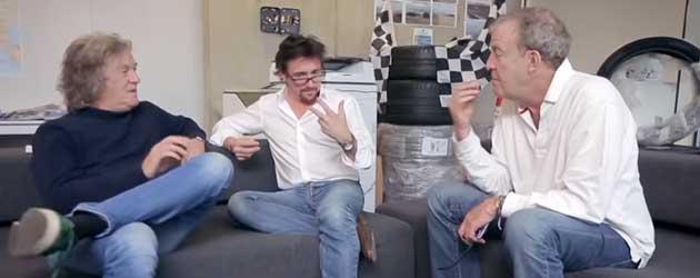 Top Gear Hosts Zoeken Een Naam In Hysterische Teaser