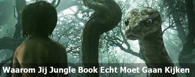 Waarom Jij Jungle Book Echt Moet Gaan Kijken
