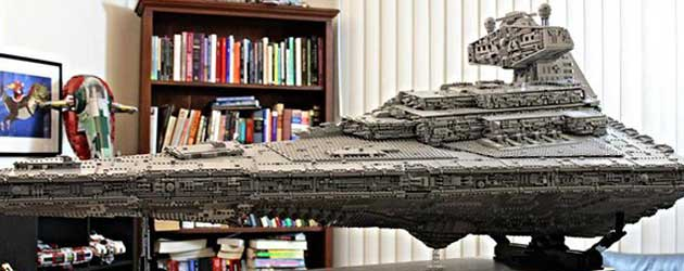 Gast Maakt Indrukwekkende LEGO Star Destroyer