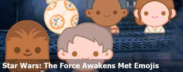 Star Wars: The Force Awakens Met Emojis