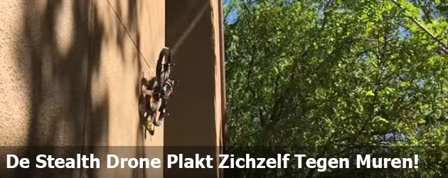 Zo Cool! De Stealthy drone plakt zichzelf tegen de muren