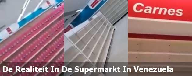 De Realiteit In De Supermarkt In Venezuela