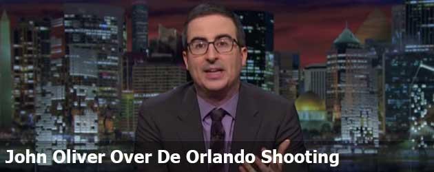 John Oliver Over De Orlando Shooting