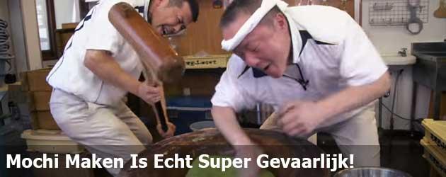Mochi Maken Is Echt Super Gevaarlijk!