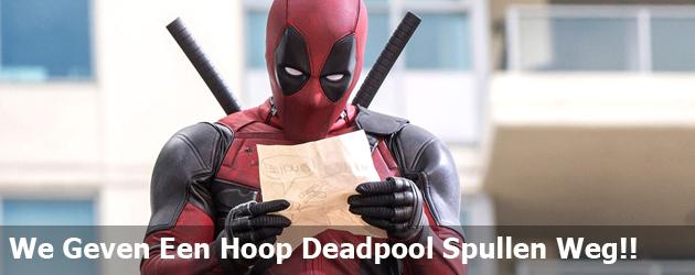 We Geven Een Hoop Deadpool Spullen Weg!!