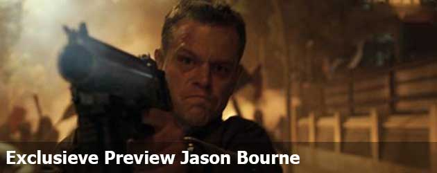 Exclusieve Preview Jason Bourne